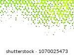 light green vector greeting...   Shutterstock .eps vector #1070025473