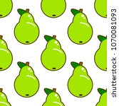 seamless pattern with green...   Shutterstock . vector #1070081093