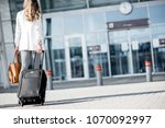 business woman walking together ... | Shutterstock . vector #1070092997