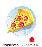 top view vector illustration of ... | Shutterstock .eps vector #1070093543