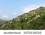 a mountain village in trabzon   ... | Shutterstock . vector #1070118233