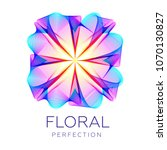 fantastic flower icon  abstract ...   Shutterstock .eps vector #1070130827
