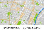 map city torino | Shutterstock .eps vector #1070152343