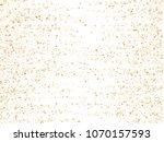 gold star dust sparkle vector... | Shutterstock .eps vector #1070157593