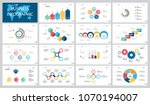 colorful marketing or...   Shutterstock .eps vector #1070194007