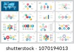 colorful marketing or finance... | Shutterstock .eps vector #1070194013