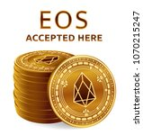 eos. accepted sign emblem.... | Shutterstock .eps vector #1070215247