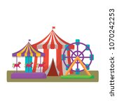 circus carnival design | Shutterstock .eps vector #1070242253