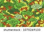 batik painting of west java...   Shutterstock .eps vector #1070269133