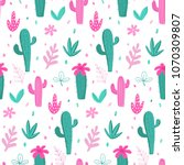 seamless pattern and background ... | Shutterstock .eps vector #1070309807