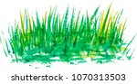 watercolor background with... | Shutterstock .eps vector #1070313503