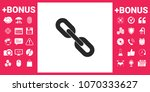 link chain symbol icon   Shutterstock .eps vector #1070333627