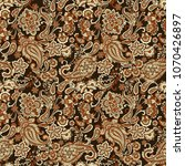 paisley vector seamless pattern.... | Shutterstock .eps vector #1070426897