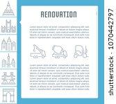 Line Illustration Of Renovatio...