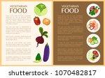 vegetarian food  vegetables and ...   Shutterstock .eps vector #1070482817