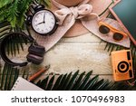 summer concept with travel...   Shutterstock . vector #1070496983