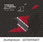 trinidad and tobago national... | Shutterstock .eps vector #1070555657