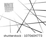 random chaotic lines abstract... | Shutterstock .eps vector #1070604773