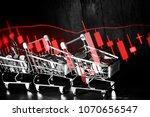 charts of financial instruments ... | Shutterstock . vector #1070656547