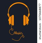 music concept vector design... | Shutterstock .eps vector #1070668877
