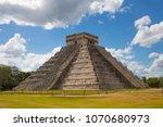 mexico  chichen itz   yucat n....   Shutterstock . vector #1070680973