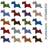 abstract dog pattern | Shutterstock .eps vector #1070686433