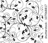 vector seamless beautiful...   Shutterstock .eps vector #107068817