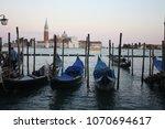 romantic moment in venice | Shutterstock . vector #1070694617