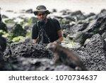 wildlife photographer and... | Shutterstock . vector #1070734637