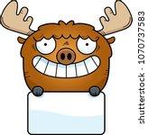 a cartoon illustration of a... | Shutterstock .eps vector #1070737583