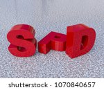 the letters spd  german party   ...   Shutterstock . vector #1070840657