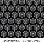 vector seamless geometric... | Shutterstock .eps vector #1070904983