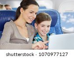 travel  tourism  family and... | Shutterstock . vector #1070977127