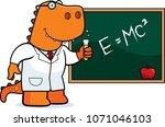 a cartoon illustration of a... | Shutterstock .eps vector #1071046103