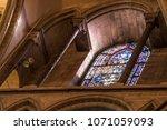 wells cathedral  somerset ... | Shutterstock . vector #1071059093