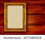beautiful splendor of wood... | Shutterstock .eps vector #1071084203