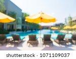 abstract blur defocused... | Shutterstock . vector #1071109037