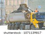 saint petersburg.russia.april... | Shutterstock . vector #1071139817