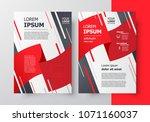 flyer brochure design template  ... | Shutterstock .eps vector #1071160037