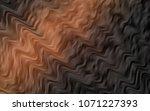 dark orange vector pattern with ...   Shutterstock .eps vector #1071227393