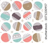 vector seamless pattern with... | Shutterstock .eps vector #1071230957