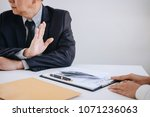 bribery and corruption concept  ...   Shutterstock . vector #1071236063