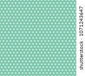 vintage polka dot background | Shutterstock .eps vector #1071243647