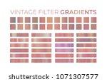 vintage hipster filter gradient ...