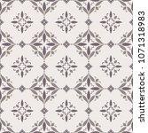 vintage ornamental vector... | Shutterstock .eps vector #1071318983