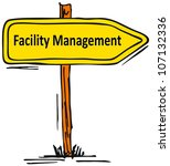 facility management - stock photo