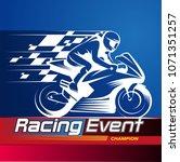 Vector Illustration  Racing...