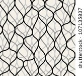 irregular abstract grid pattern.... | Shutterstock .eps vector #107135837