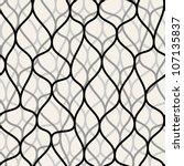 irregular abstract grid pattern.... | Shutterstock .eps vector #107135837