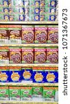 Small photo of MELAKA, MALAYSIA - April 13, 2018 : Nestle coco crunch on shelf rack display in the Tesco store.